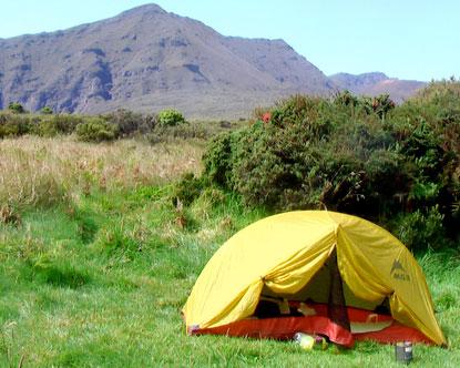 Haleakala National Park Camping - Haleakala Campgrounds