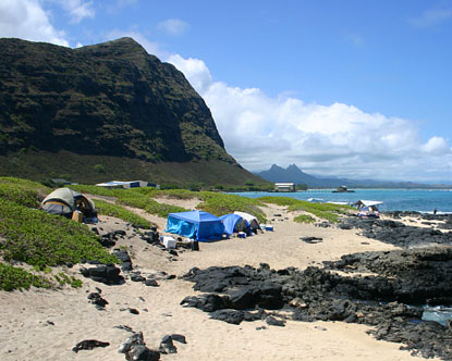 Oahu Camping Campgrounds On Oahu