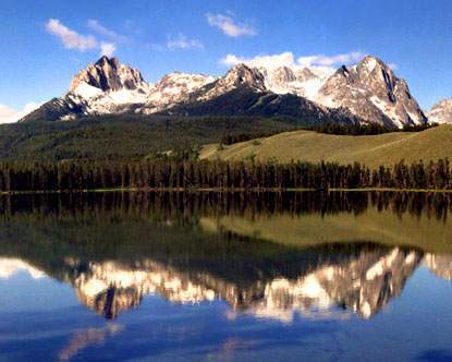 Sawtooth Mountains - Sawtooth Mountains Idaho