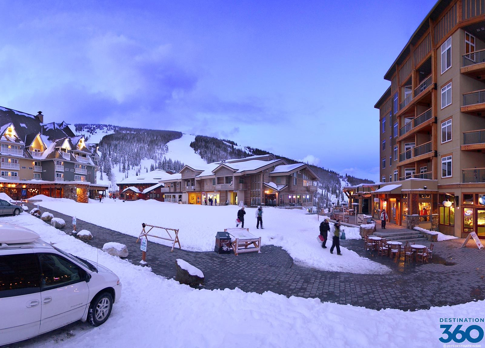 Schweitzer Ski Resort Virtual Tour