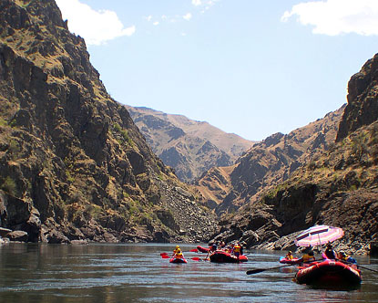 Snake River Rafting Idaho