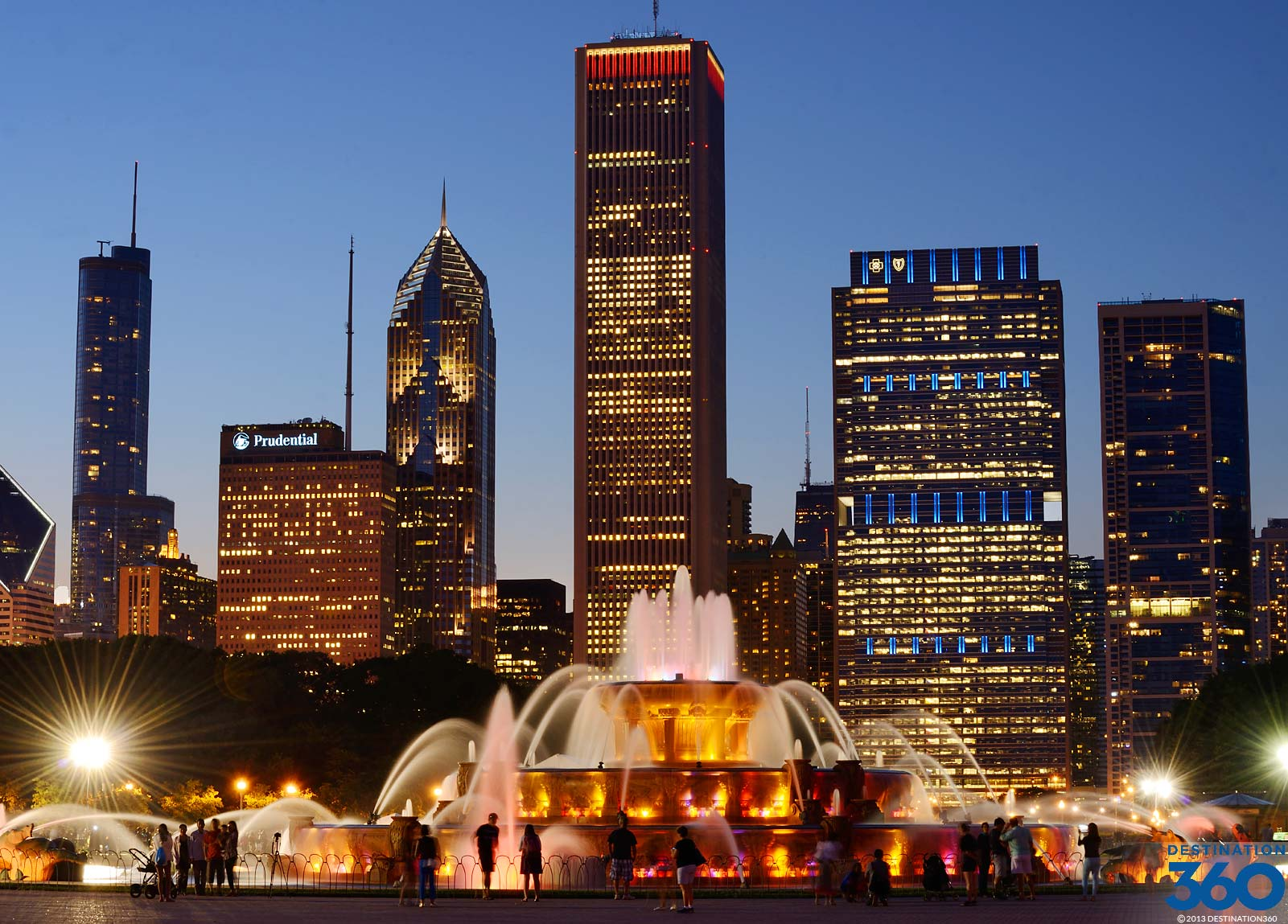 Buckingham Fountain Virtual Tour