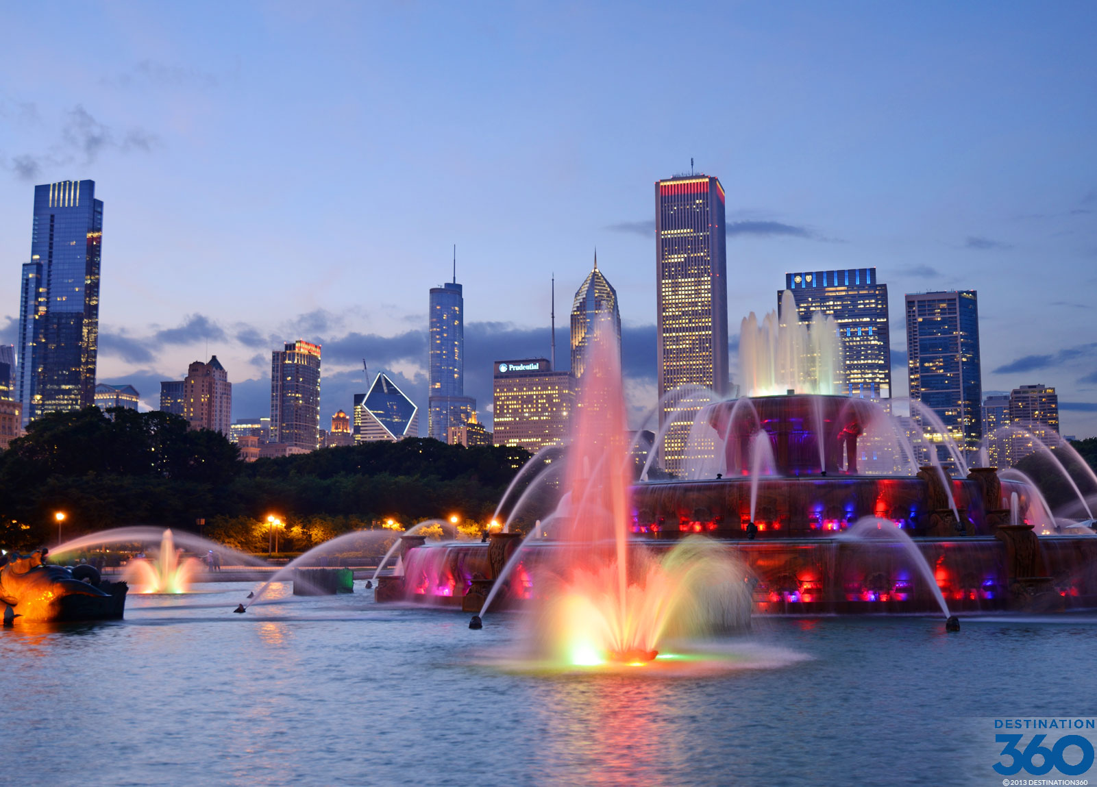 Chicago Fountains Virtual Tour