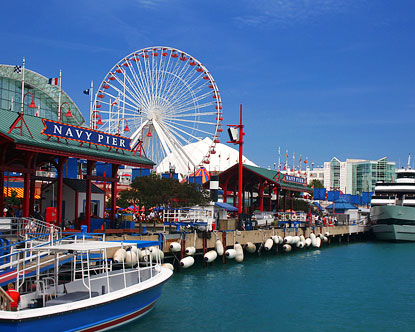 The Navy Pier- A Fun Day on Lake Michigan