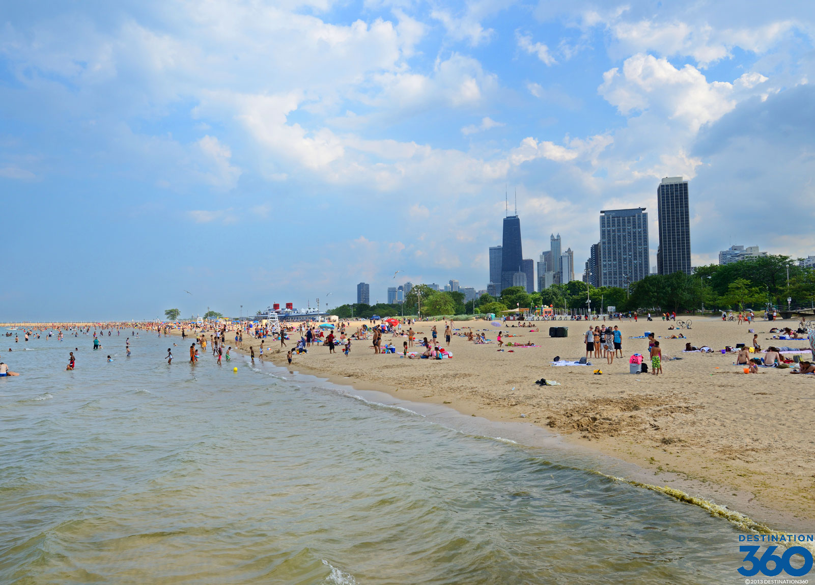 North Avenue Beach North Ave Beach Chicago - Chicago map north avenue beach
