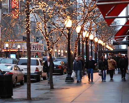Oak Street Chicago Shopping On Oak Street