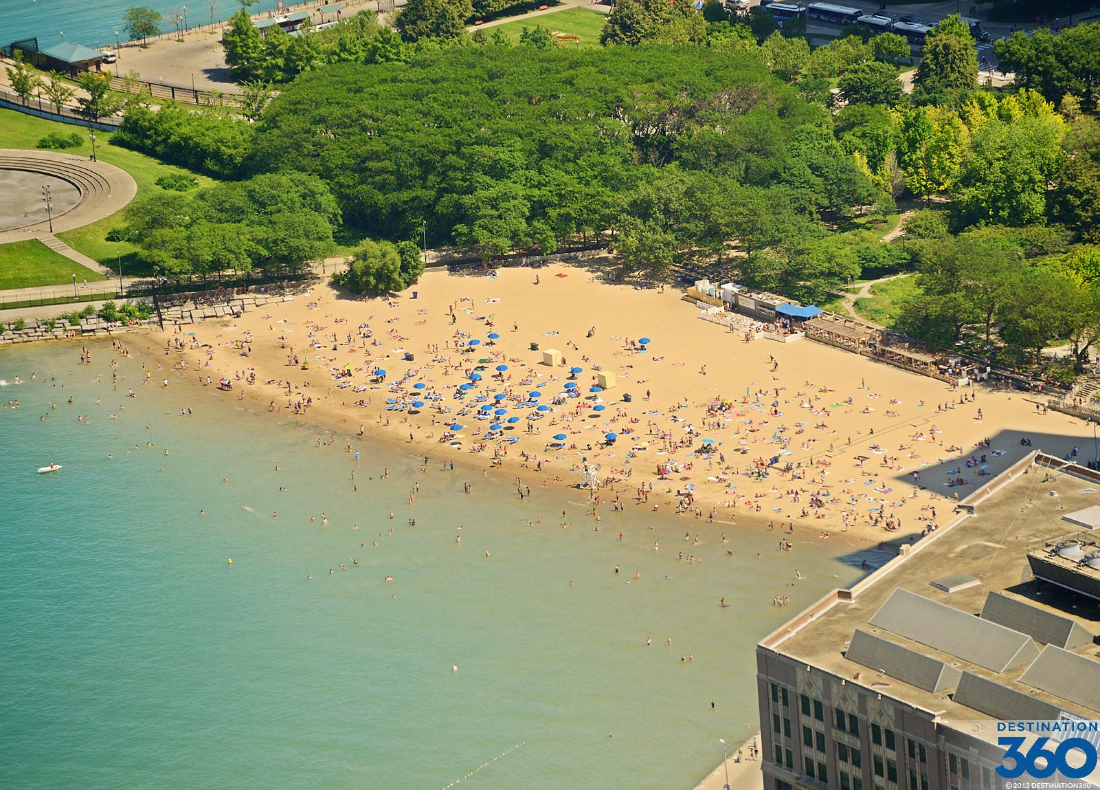 Ohio Street Beach Chicago