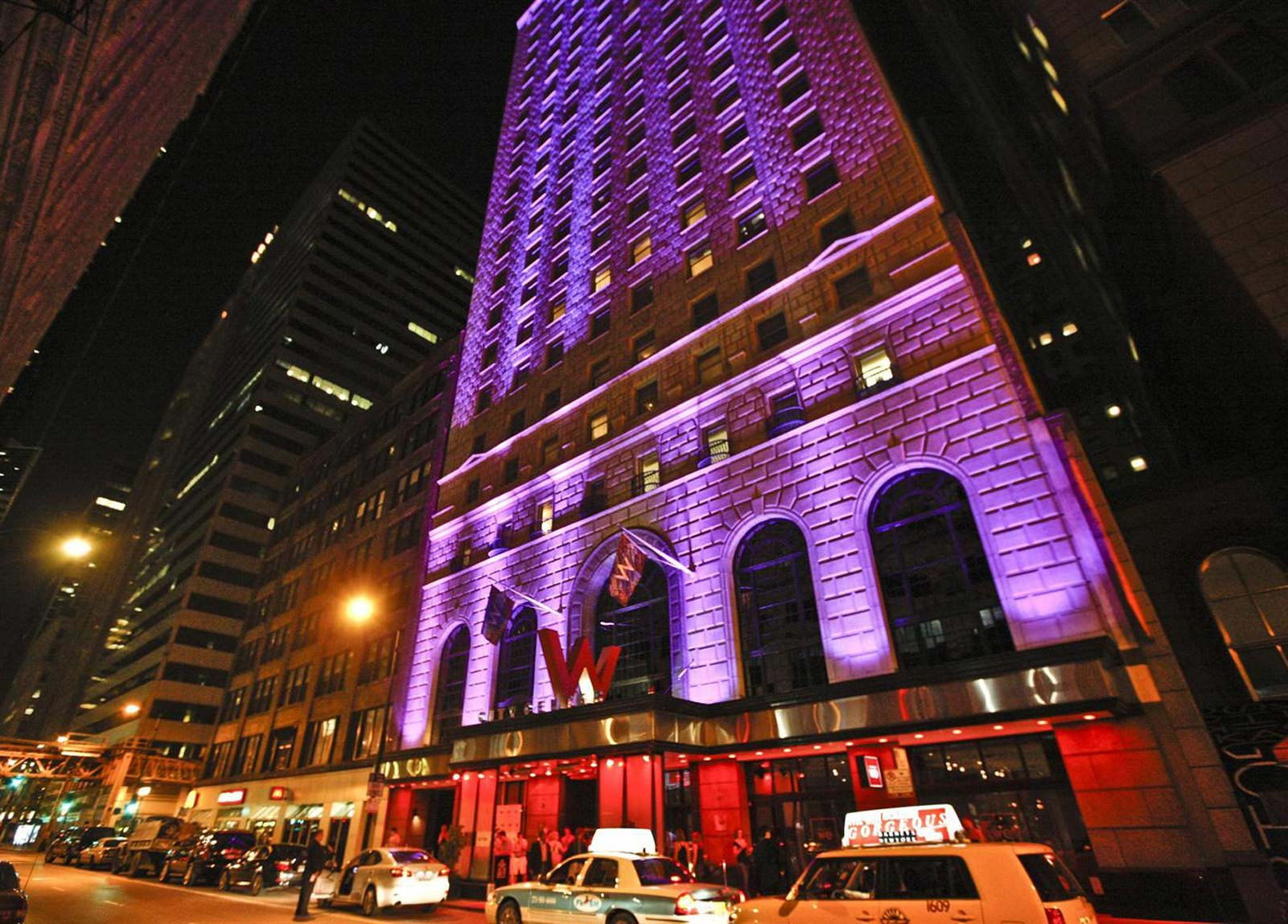 W hotel chicago for Small luxury hotels chicago