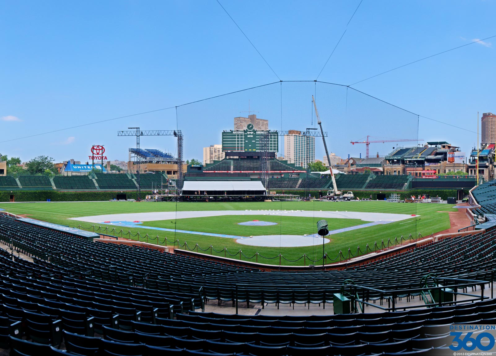 Wrigley Field Virtual Tour
