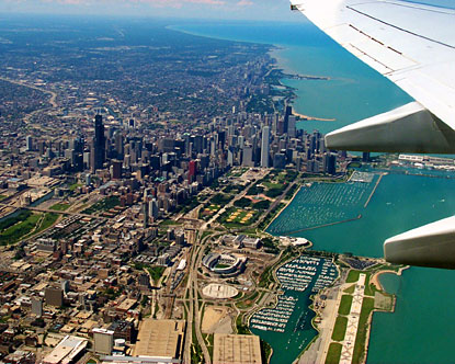 airlines to chicago