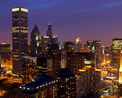 Illinois - Chicago Skyline