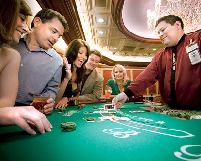 Belterra blackjack tables