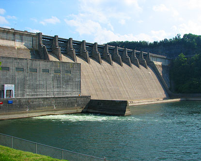 Wolf Creek Dam Tours