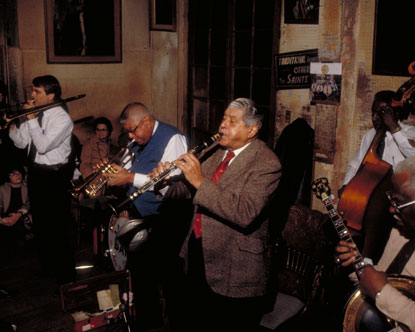 Preservation Hall. Nothing says New Orleans better than jazz music.