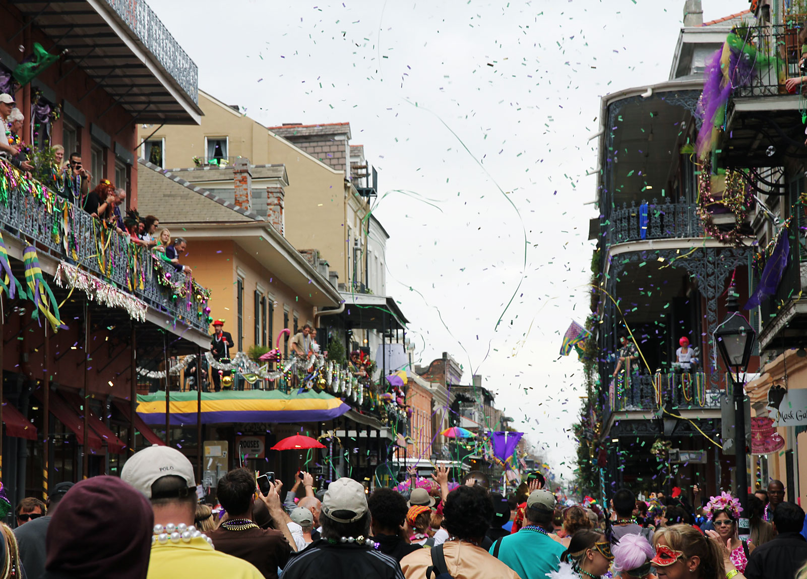 Mardi Gras French Quarter
