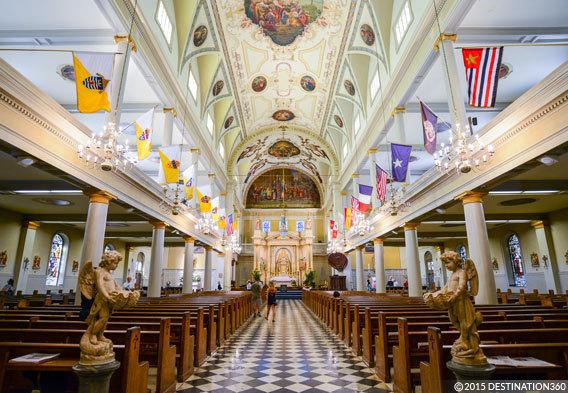 St Louis Cathedral Basilica