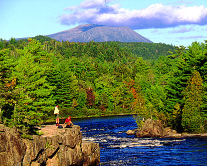 Mount Katahdin and the Appalachian Trail