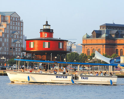 Baltimore Water Taxis