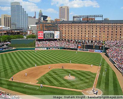 Baltimore Orioles Oriole Park At Camden Yards