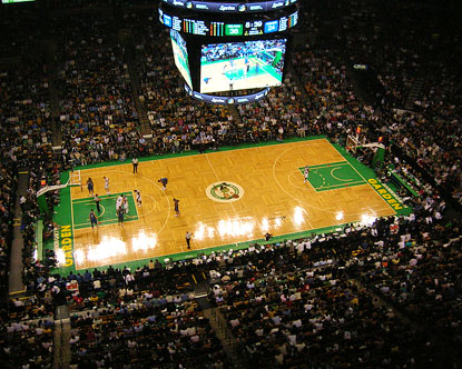 TD Garden Boston Celtics Arena