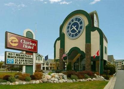 Clarion Hotel Beachfront   Mackinaw City