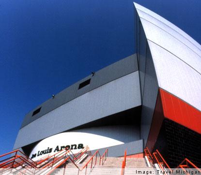 Joe Louis Arena Joe Louis Arena Seating Michigan Hockey