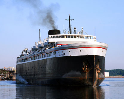 Lake Michigan Ferry - Lake Michigan Car Ferry - Ferry ...