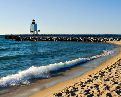 Lake michigan lake michigan beaches lake michigan facts for Best shore fishing in michigan
