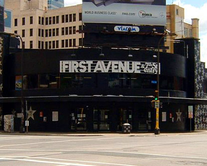 First Avenue Minneapolis