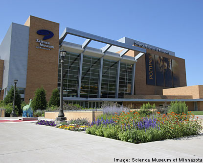 Science Museum of Minnesota - Attraction - 120 Kellogg Blvd W, St Paul, MN, United States