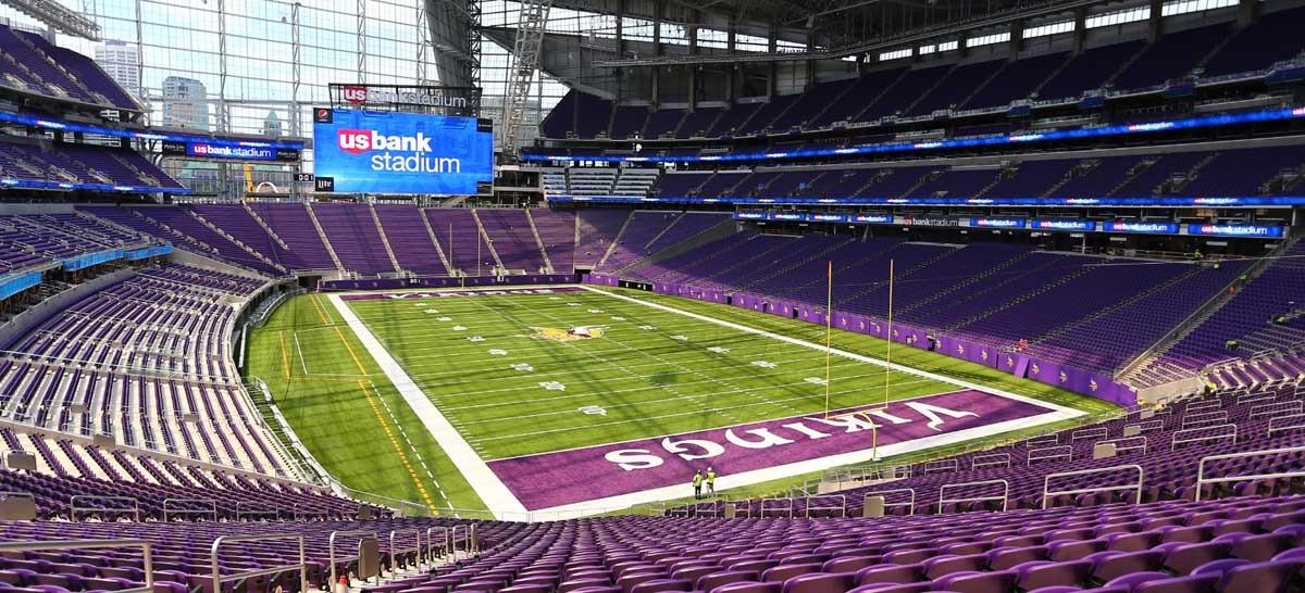 U.S. Bank Stadium Seating Map