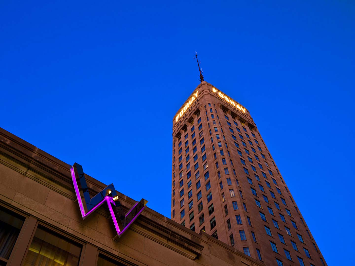 W Hotel Foshay Minneapolis