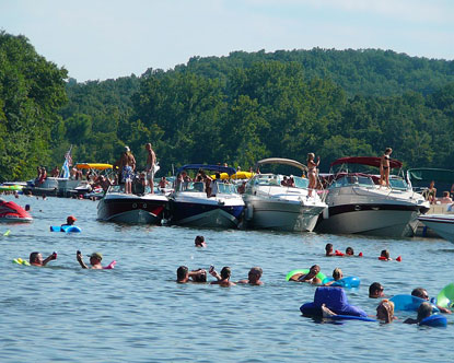 Lake of the Ozarks Party Cove