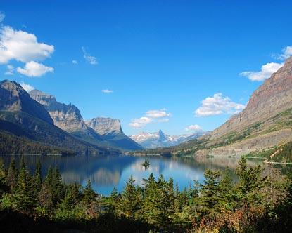Montana Lakes Lake Cabins In Montana