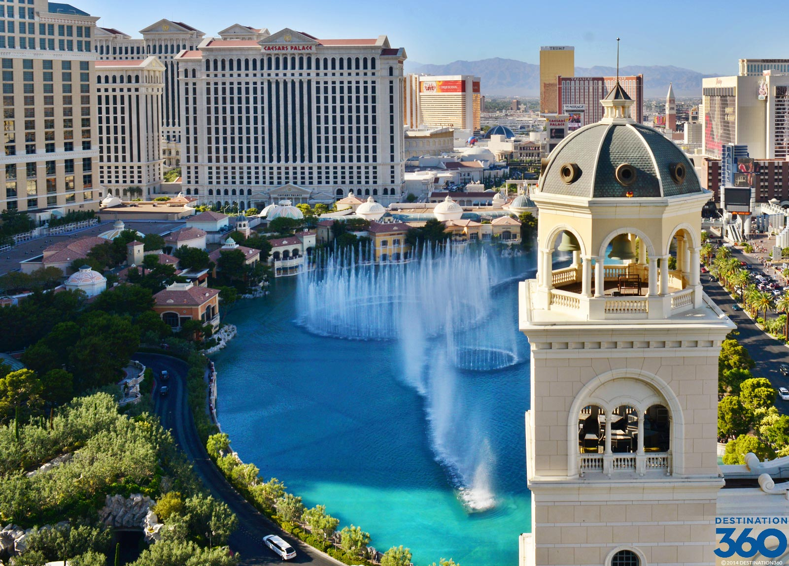 Best Fountain View Room Bellagio