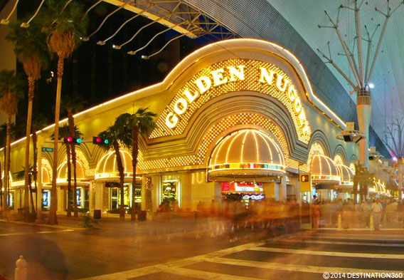 Downtown Las Vegas - Golden Nugget