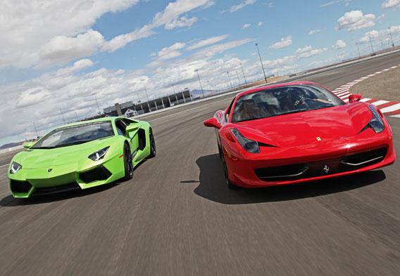 Las Vegas Exotic Car Racing Driving A Lamborghini