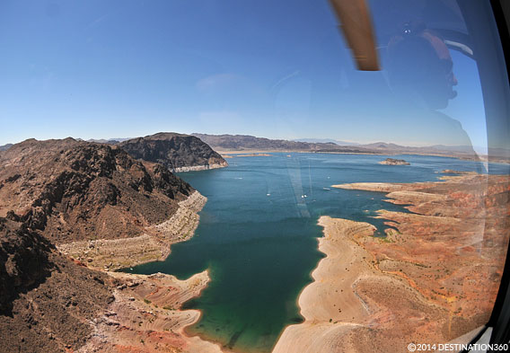 Lake Mead from a Helicopter