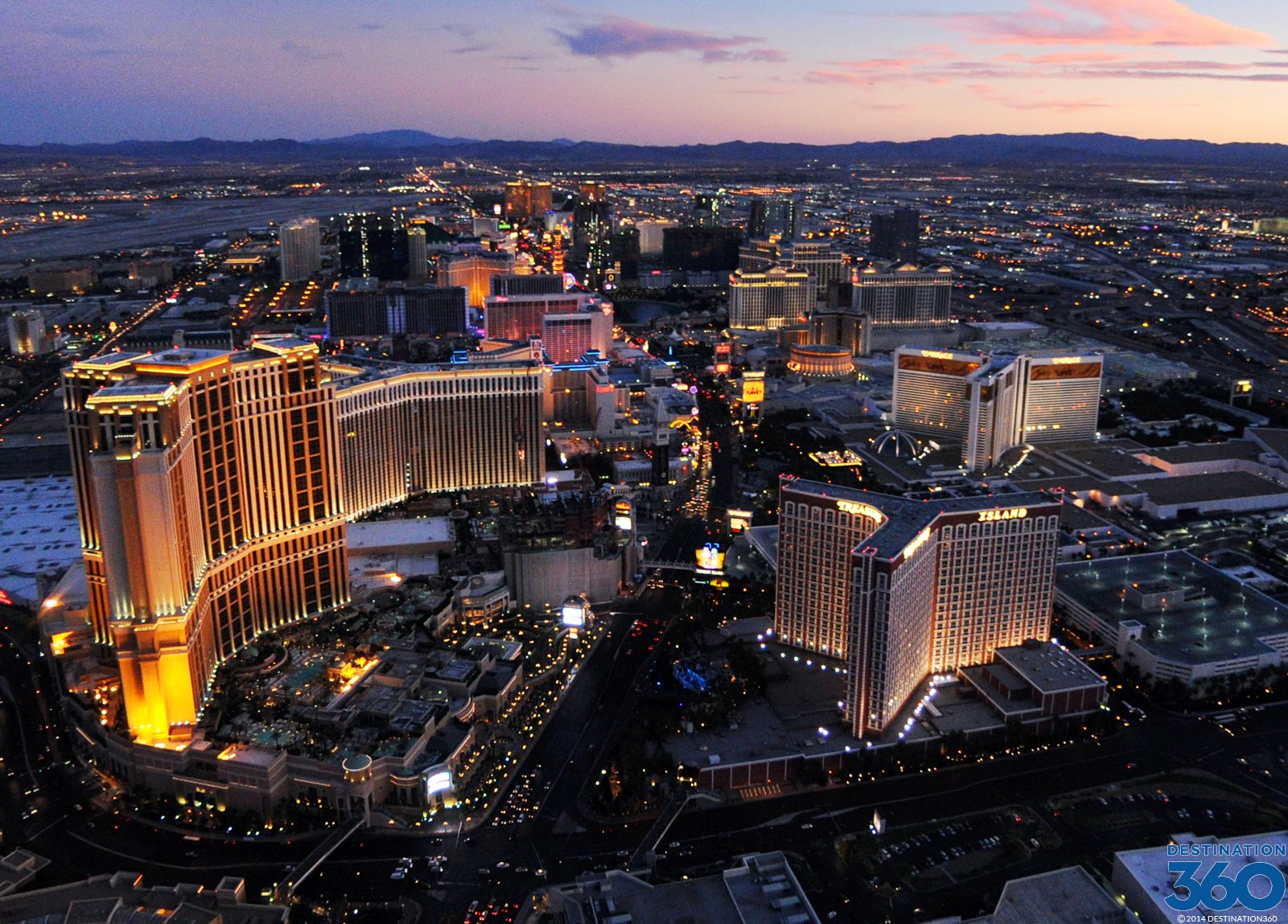 View From Stratosphere Las Vegas Stratosphere Las Vegas