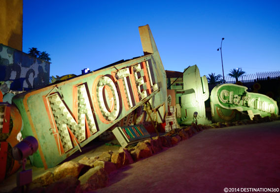 Neon Museum at Night