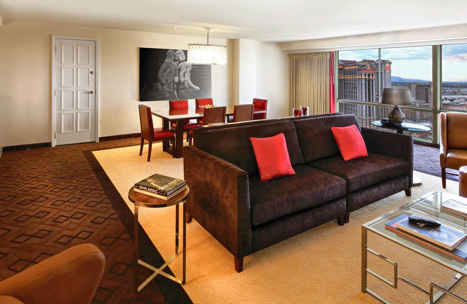 100 Elara Las Vegas Junior Suite Floor Plan