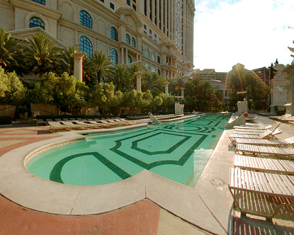Caesars Palace Pool - Apollo Pool