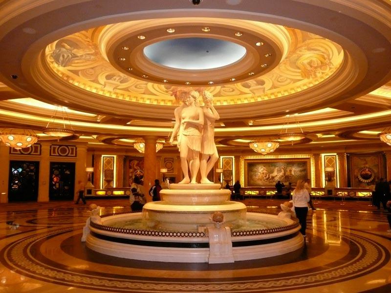 Caesars Palace Lobby Caesars Palace Las Vegas Lobby