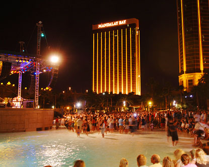 Concerts on the Beach at Mandalay Bay