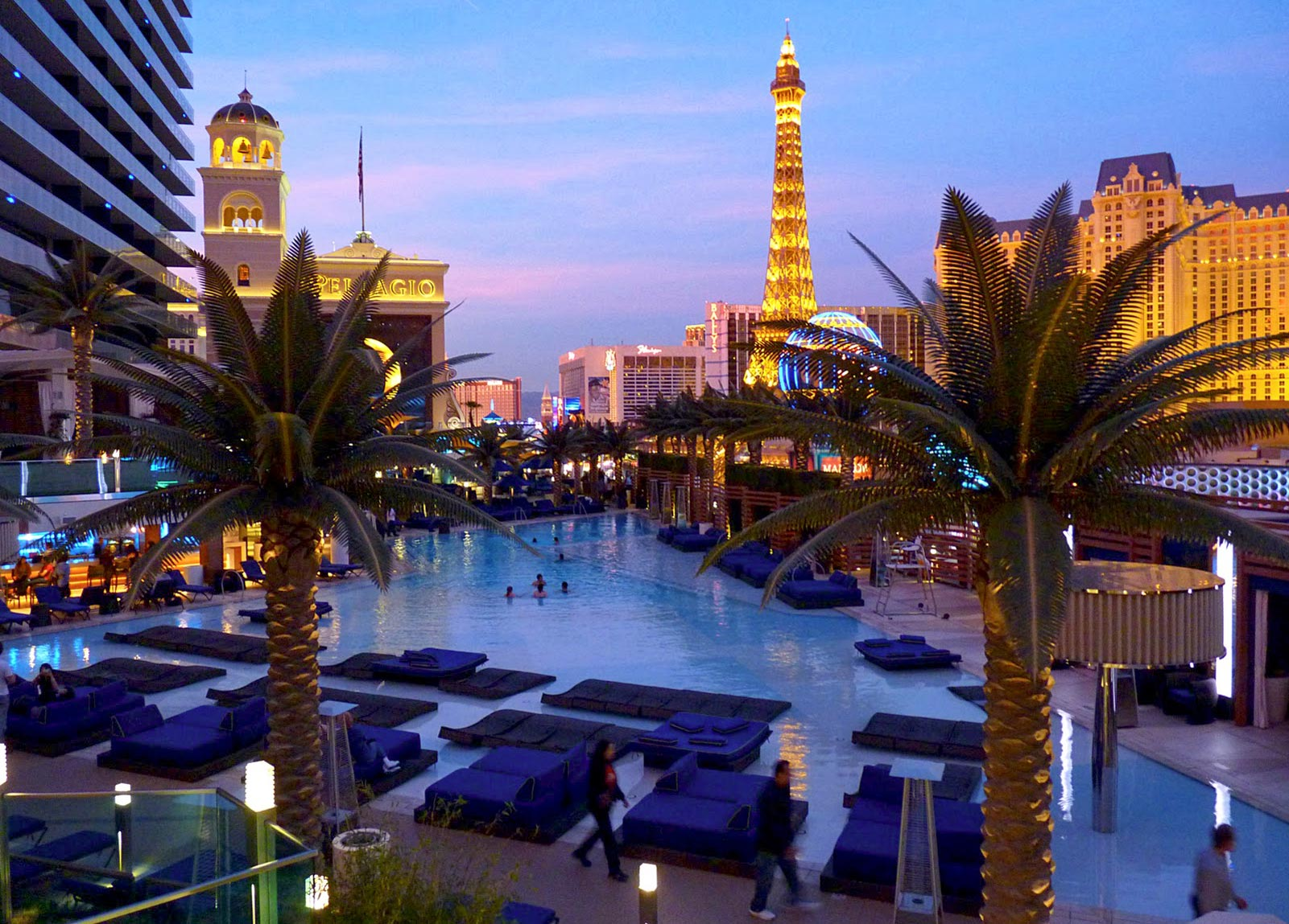 Las Vegas Hotel Pools
