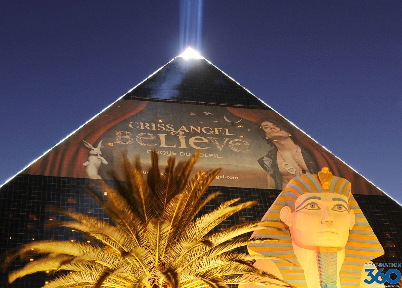 Criss Angel Show at the Luxor