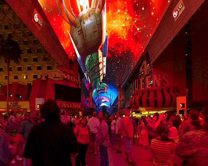 Click here for fullscreen Fremont Street Experience 2 virtual tour