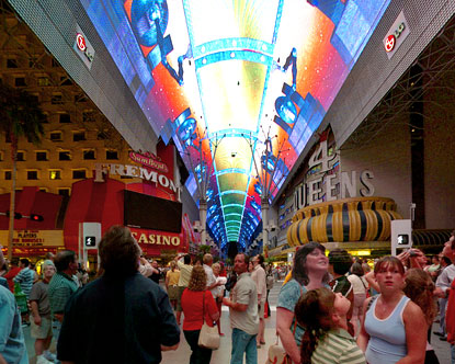 Click here for fullscreen Fremont Street Experience virtual tour