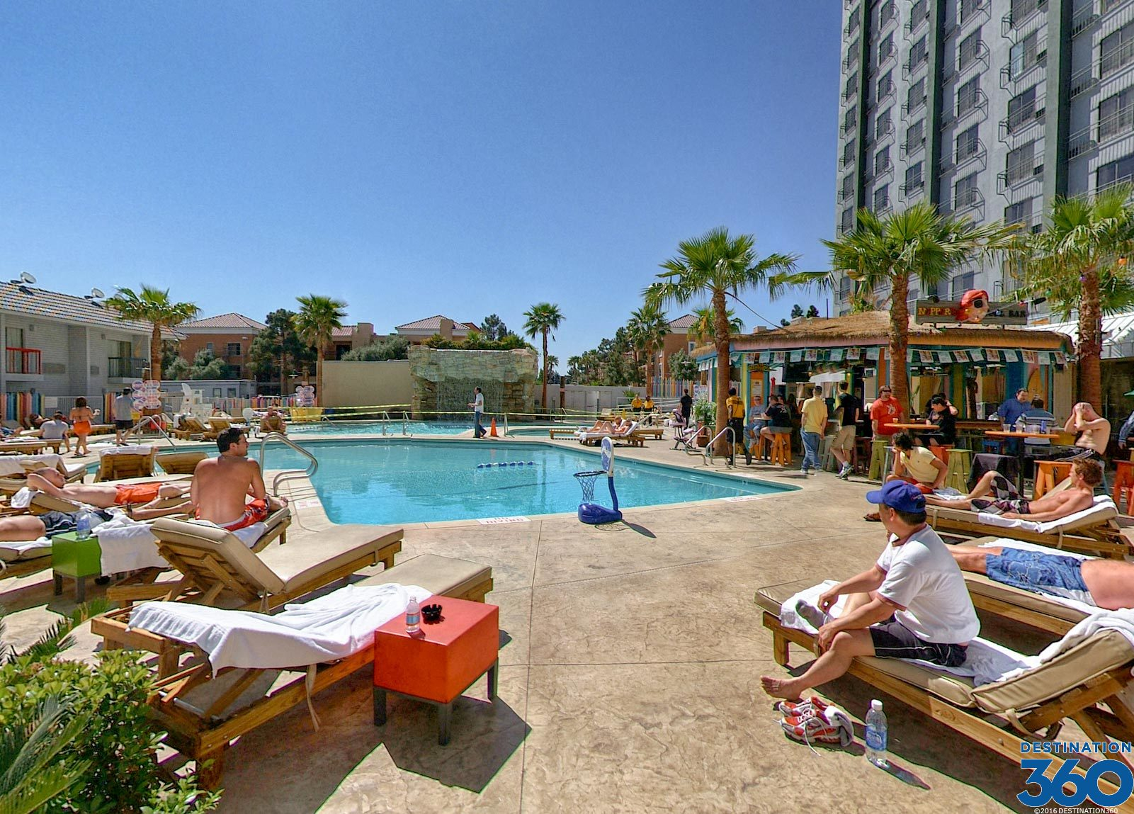Hooters Hotel And Casino Pool Nippers Pool