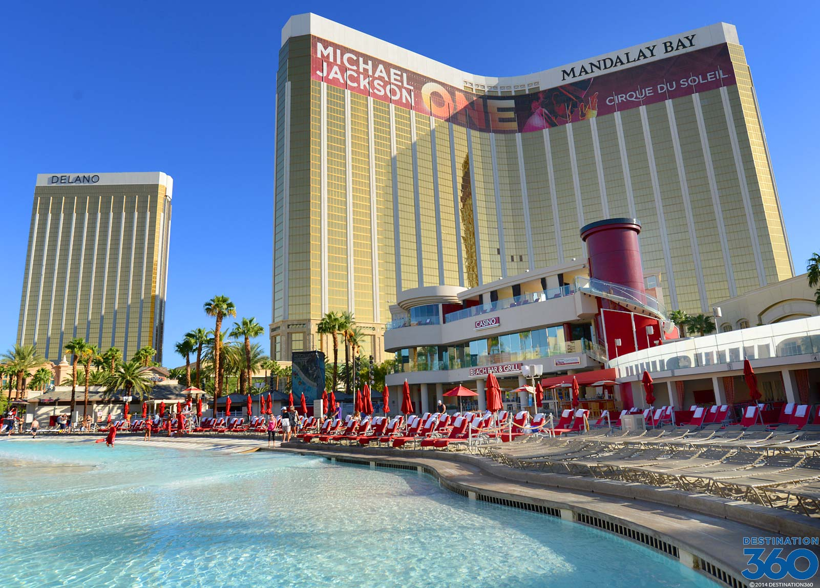 Las Vegas Pools Take Virtual Tours Of The Best Pools In